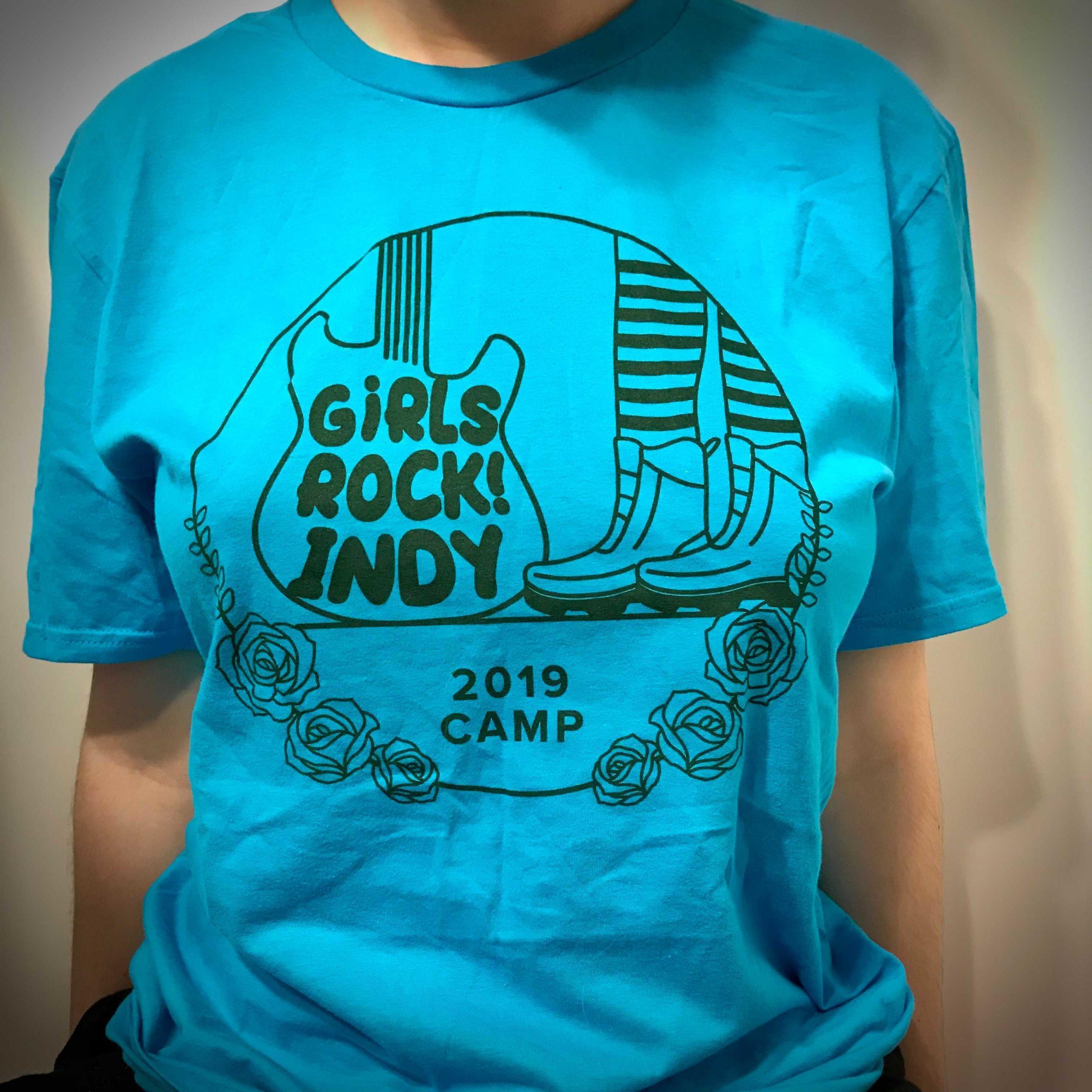 2019 Camp Shirt - blue