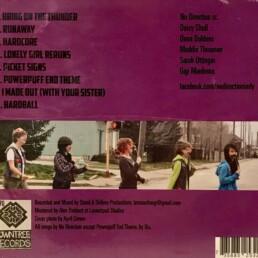 No Direction - Band Camp CD - back